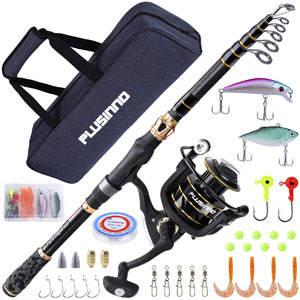 PLUSINNO Fishing Rod and Reel Combos Freshwater Kit