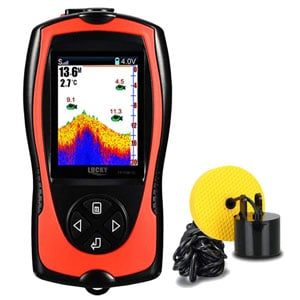 LUCKY Fish Finder For Canoe Sonar Sensor Transducer