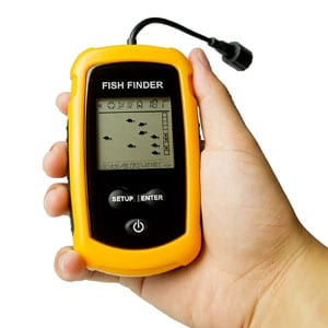 Venterior Portable Handheld Fishfinder Fish Depth Finder