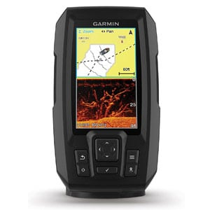Garmin 4cv with Transducer GPS Fishfinder Scanning Sonar