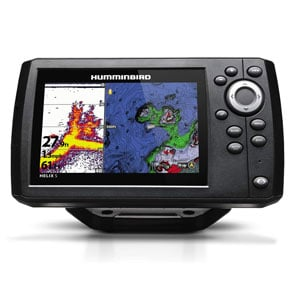 Humminbird HELIX 5 CHIRP GPS G2 fish finder for boat