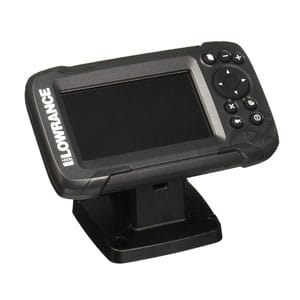 Lowrance 4-inch fish finder for trolling motor