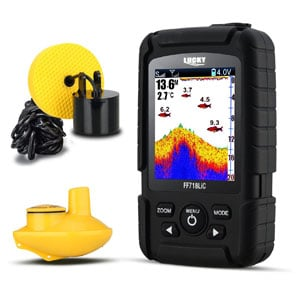 LUCKY offshore fish finder Wired & Wireless