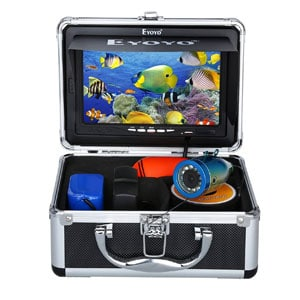Waterproof Underwater Camera For Murky Water with Carry Case