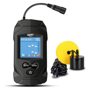 affordable fish finder Kit Portable Depth Finder for Boat, Ice Fishing